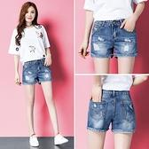 2020年新款夏季破洞牛仔短褲女高腰顯瘦韓版寬鬆外穿百搭寬管褲子