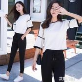 兩件套很仙的套裝女秋洋氣休閒秋裝2019新款時尚『小淇嚴選』