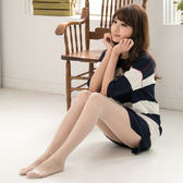 超薄防勾T檔亮光絲襪 (白色)
