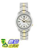 [美國直購] Seiko Men s 男士手錶 SNKK83 Two Tone Stainless Steel Analog with White Dial Watch