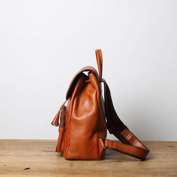 【Solomon 原創設計皮件】玉茗花系列 後背包
