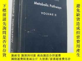 二手書博民逛書店Metabolic罕見Pathways (Volume II)