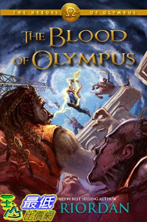 [105美國直購] 美國暢銷書 The Blood of Olympus (The Heroes of Olympus)