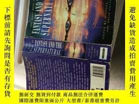 二手書博民逛書店FANTASY罕見AND THE SUPERNATURALY21