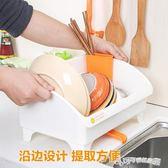 瀝水架 尚品宣印日式多功能廚房置物架 瀝水架放碗架瀝水架塑料滴 Cocoa IGO
