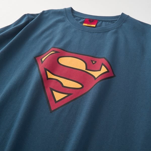 CACO-超人標誌短T(三色)-情侶款-男【SDC016】