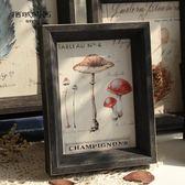 歐式復古裝飾畫框6寸7寸8寸10寸A3客廳咖啡店掛墻藝術小相框擺檯『CR水晶鞋坊』