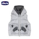 chicco-浣熊學士-造型連帽舖棉背心外套