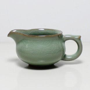 精品龍泉青瓷公道杯