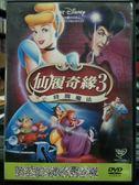 影音專賣店-P04-045-正版DVD-動畫【仙履奇緣3 時間魔法 國英語】-迪士尼