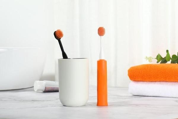 日本米滿電動牙刷皓必佳 minimum深度清潔成人寬頭替換刷頭黑色 青木鋪子
