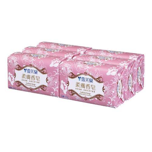 雪芙蘭柔膚香皂130g X6入【愛買】