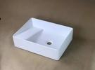 【麗室衛浴】陶磁上崁式洗衣槽 P-304 固定式洗衣板 500X370*135mm