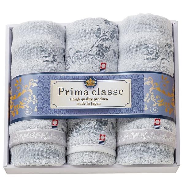 【日本製】【PRIMA CLASSE】 日本製 今治毛巾 擦面巾&擦手巾 贈答禮品 四件組 SD-4048 - 日本製