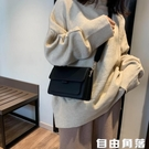 斜挎包 女學生百搭小包包 韓版時尚潮簡約 單肩包 自由角落