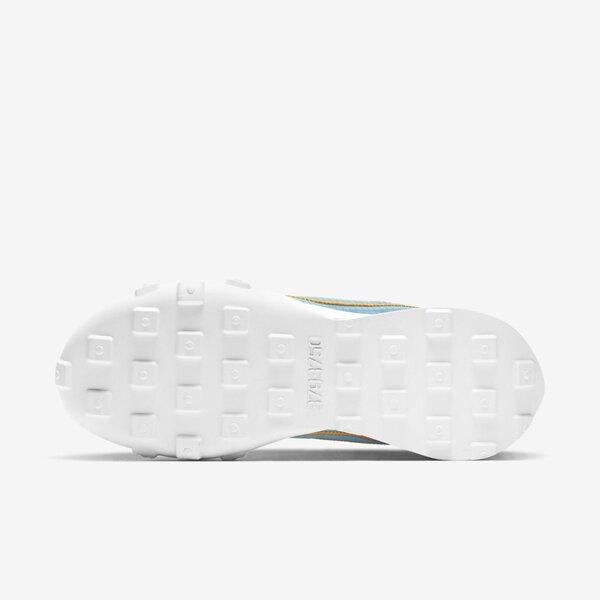 Nike Wmns Waffle Racer 2x [DC4467-400] 女 運動休閒鞋 柔軟舒適 藍 金