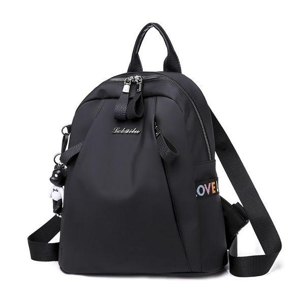 【現貨】防水牛津布後背包 背部有拉鍊暗袋 側邊可放水壺 編號:305 寶來小鋪