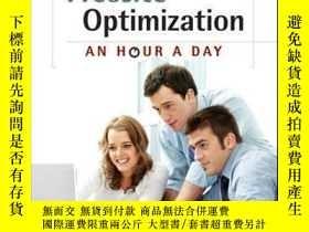 二手書博民逛書店Website罕見Optimization: An Hour a DayY410016 Rich Page