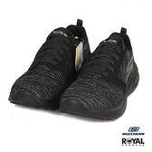Skechers 新竹皇家 Fight Cen 黑色 織布 輕量 休閒運動鞋 女款 NO.I9272
