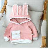 寶寶新款4春秋裝韓版5連帽兔子大學T0-2歲嬰幼兒9女童6上衣12潮gogo購