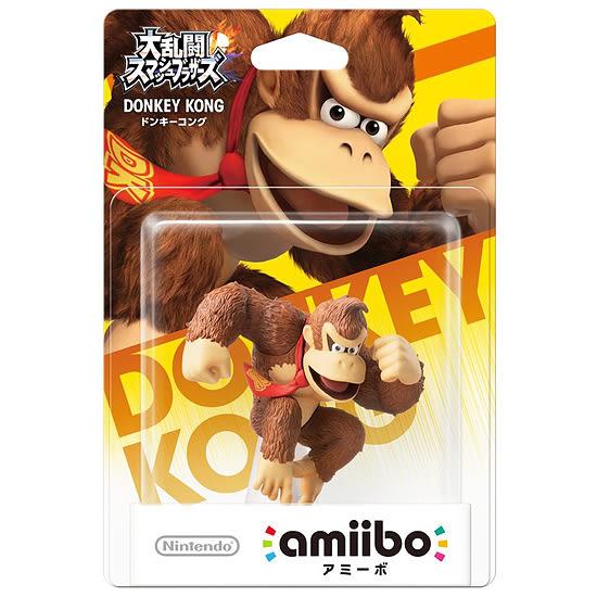[哈GAME族]免運費 可刷卡 任天堂 amiibo 公仔 任天堂大亂鬥《大金剛》適用 Switch NS WiiU 3DS