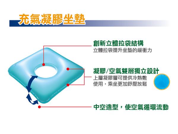 REXICARE 方形凝膠充氣坐墊