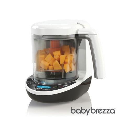 Babybrezza 副食品料理機(數位版)/調理機(贈專用蒸鍋x1+3M食物剪x1+NUK柔濕巾80抽)[衛立兒生活館]