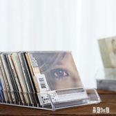 時尚簡約設計透明水晶感多格桌面CD收納盒DVD碟片陳列架 CJCJ2903『易購3c館』
