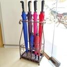 雨傘架酒店大堂家用鐵藝傘筒雨傘桶收納桶落地式放摺疊傘架子