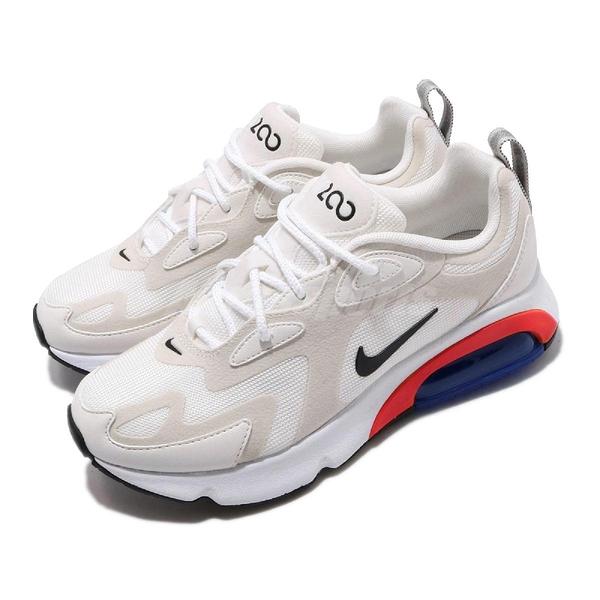 Nike 慢跑鞋 Wmns Air Max 200 米白 黑 藍橘紅 氣墊 女鞋 【PUMP306】 AT6175-100