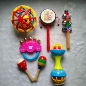嬰兒玩具 新生嬰兒寶寶玩具0-1歲樂器傳統撥浪鼓玩具手搖鼓嬰兒搖鈴禮物 開學季特惠減88