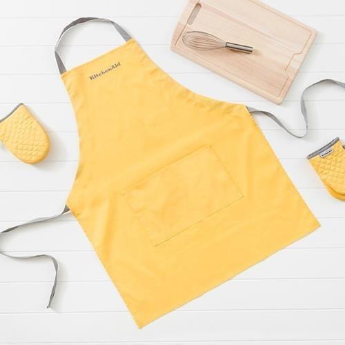 Kitchen Aid 圍裙+隔熱手套3件組