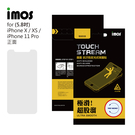 iMos Apple iPhone 11 Pro Touch Stream 電競霧面 螢幕保護貼