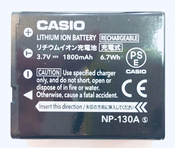 全新 卡西歐 CASIO NP-130A 原廠鋰電池  ZR3500 ZR1500 ZR1200【裸裝】