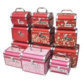 首飾盒結婚手飾盒密碼收納盒首飾箱珠寶雙層手飾品帶鎖首飾收納盒igo  韓風物語