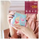 零錢包-迪士尼櫻花小熊維尼好朋友珠釦零錢包-單1款-A19190278-天藍小舖