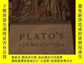 二手書博民逛書店Plato's罕見Symposium translated by