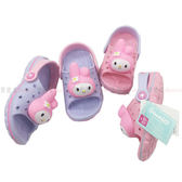 【KP】橡膠涼鞋 三麗鷗家族 美樂蒂 大頭 紫色 粉色 DTT0514194