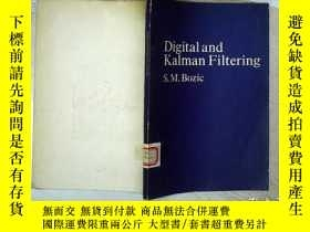 二手書博民逛書店DIGITAL罕見AND KALMAN FILTERING 數字