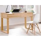 書桌 電腦桌 TV-495-1 羅本北歐全實木4尺書桌 (不含主機架) 【大眾家居舘】