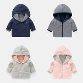 外套0春秋女兒童男童1歲3秋裝秋季兒童加厚小童潮