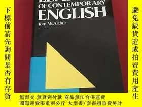 二手書博民逛書店LEXICON罕見OF CONTEMPORARY ENGLISH