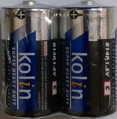 歌林碳鋅電池2號2入