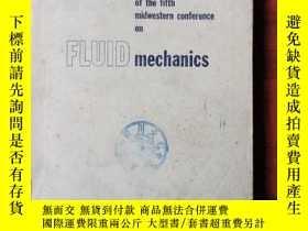 二手書博民逛書店proceedings罕見of the fifth midwestern conference on fluid