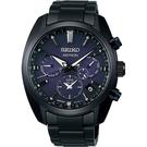 SEIKO 精工Astron 暗夜星空GPS衛星校時雙時區手錶(SSH077J1)5X53-0BC0B