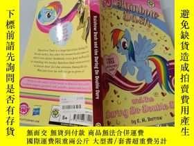 二手書博民逛書店Rainbow罕見Dash and the Daring Do Double Dare:彩虹沖刺和勇敢的人做雙重挑