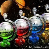 天氣預報瓶創意生日禮物六一兒童節禮物風暴瓶創意家居擺件送閨蜜 星河光年DF