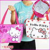 Hello Kitty 凱蒂貓 雙子星 正版 兒童 卡通 保冷保熱 手提 保溫便當袋 野餐袋 側背包 B19085