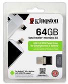 Kingston DTDUO3/64G 金士頓 USB 3.0 OTG 64G Micro USB 雙接頭 隨身碟