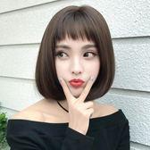 假髮女短假髮 修臉蓬鬆BOBO頭圓臉自然短捲髮可愛韓系波波頭短假髮套
